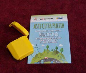 Mozzichino, Asti una città pulita